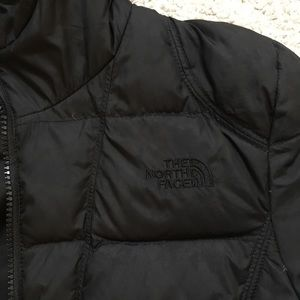 The North Face long parka coat